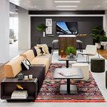 sofá modular / contemporâneo / em tecido / da linha comercial