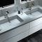 gabinete de banheiro de parede / em madeira / contemporâneo / com gavetas