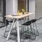 mesa alta contemporânea / em madeira / retangular / da linha comercialAHREND AERO by Marck HaansAhrend