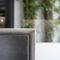 cozinha contemporânea / em madeira / em pedra natural / em aço