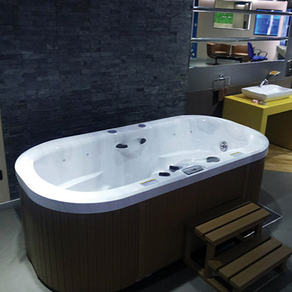 Above Ground Hot Tub Gemini Jaquar Oval 2 Person Indoor