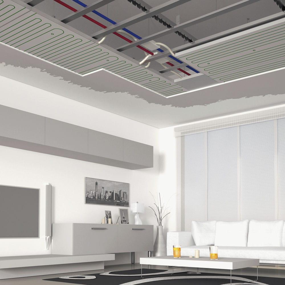 Polystyrene Suspended Ceiling Plaster Panel Radiant