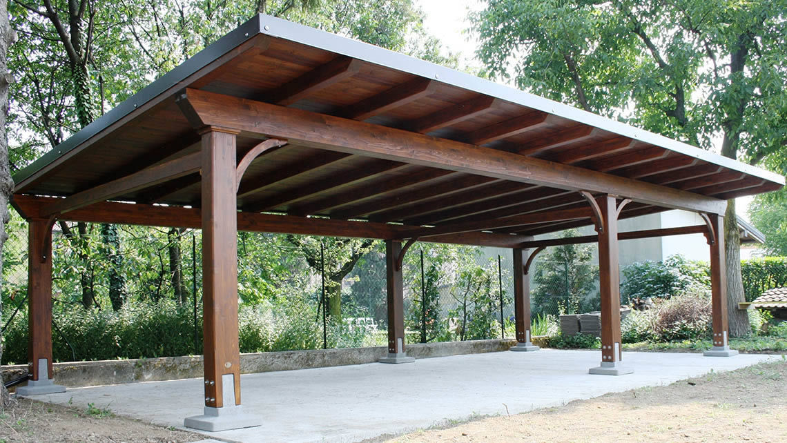 Wooden Carport Carport Proverbio Outdoor Design