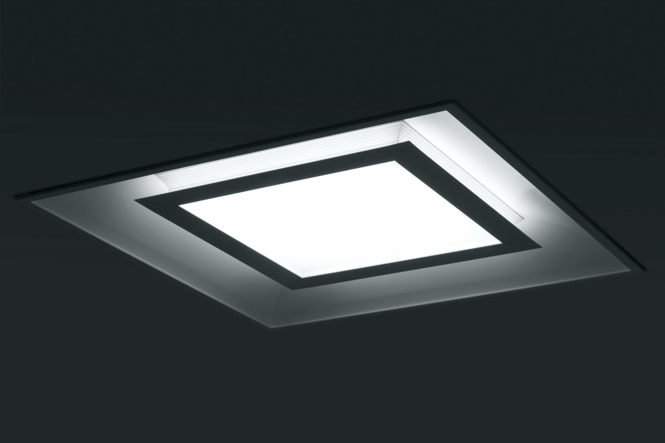 Recessed Ceiling Light Fixture Led Square Aluminum