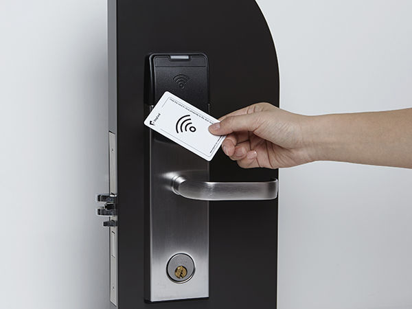 RFID card reader / for access control / for hotels