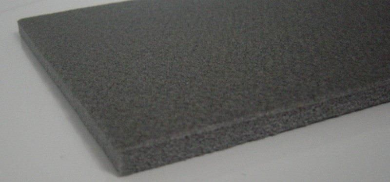 Acoustic insulation / polyolefin / for flooring / panel