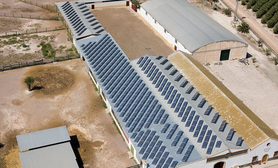 Single-axis solar tracker / for photovoltaïc installations - SA