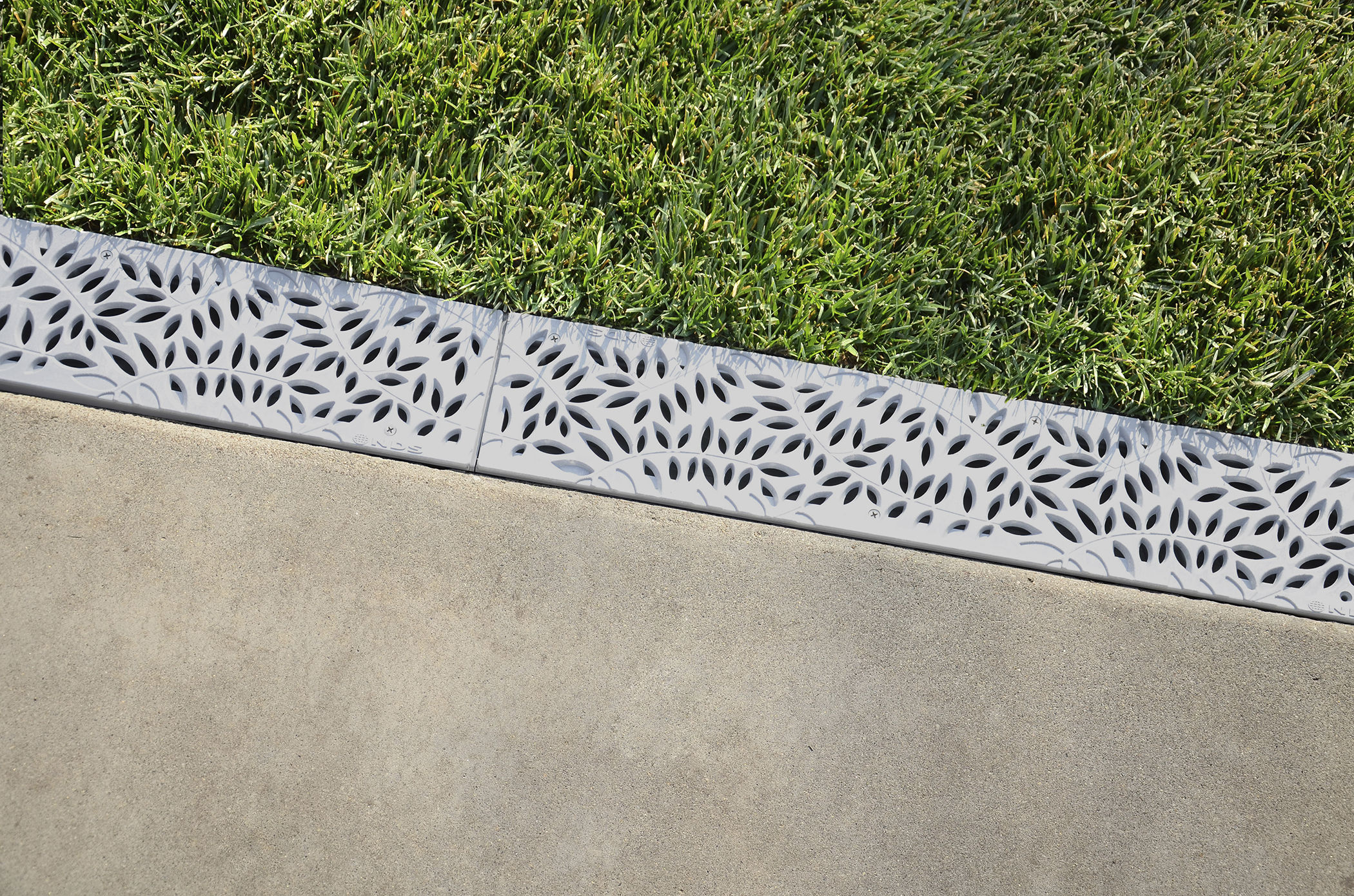 Patio Drainage Channel Concrete With Grating