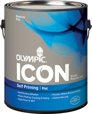 Decorative Paint For Walls Exterior Acrylic Olympic Icon