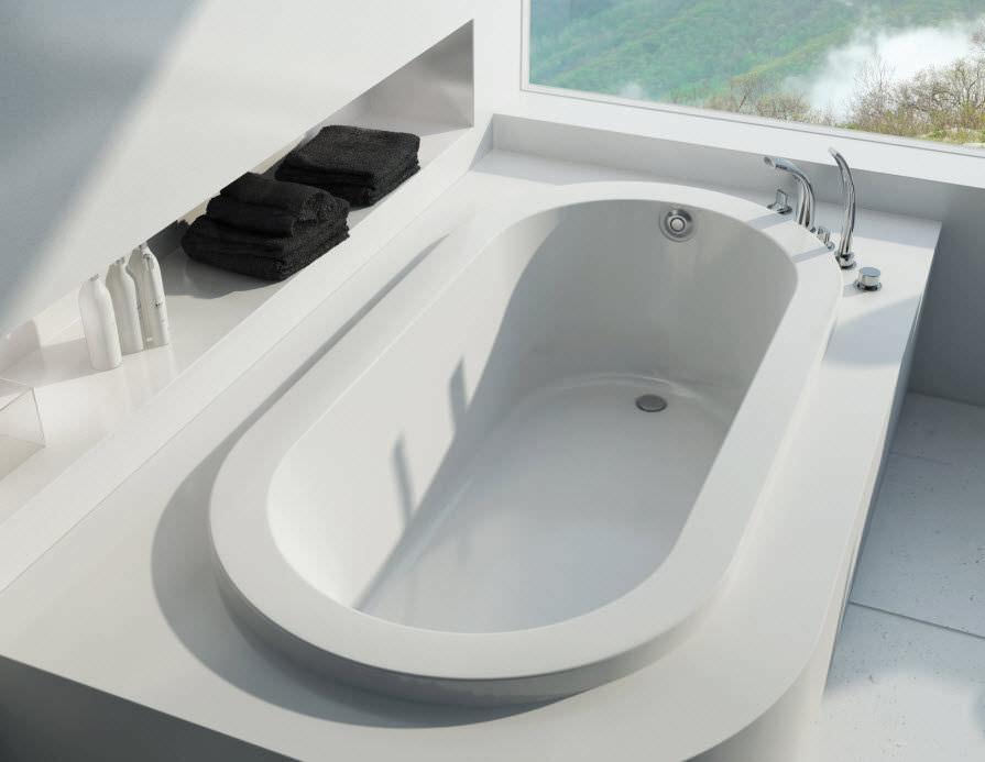 Oval Bathtub Acrylic Okapi