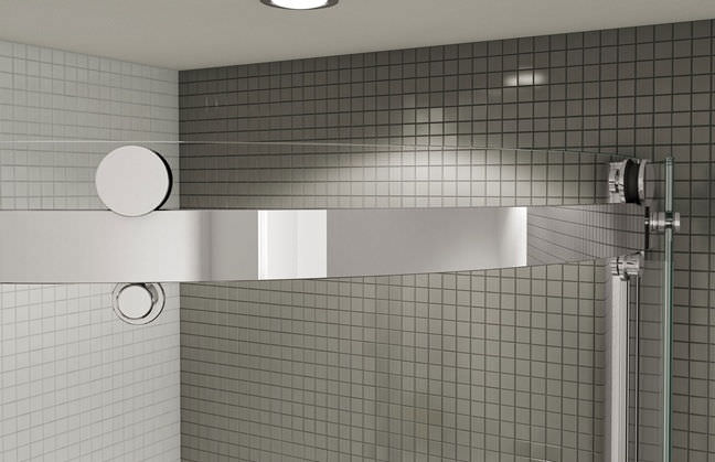 Sliding Shower Screen Corner