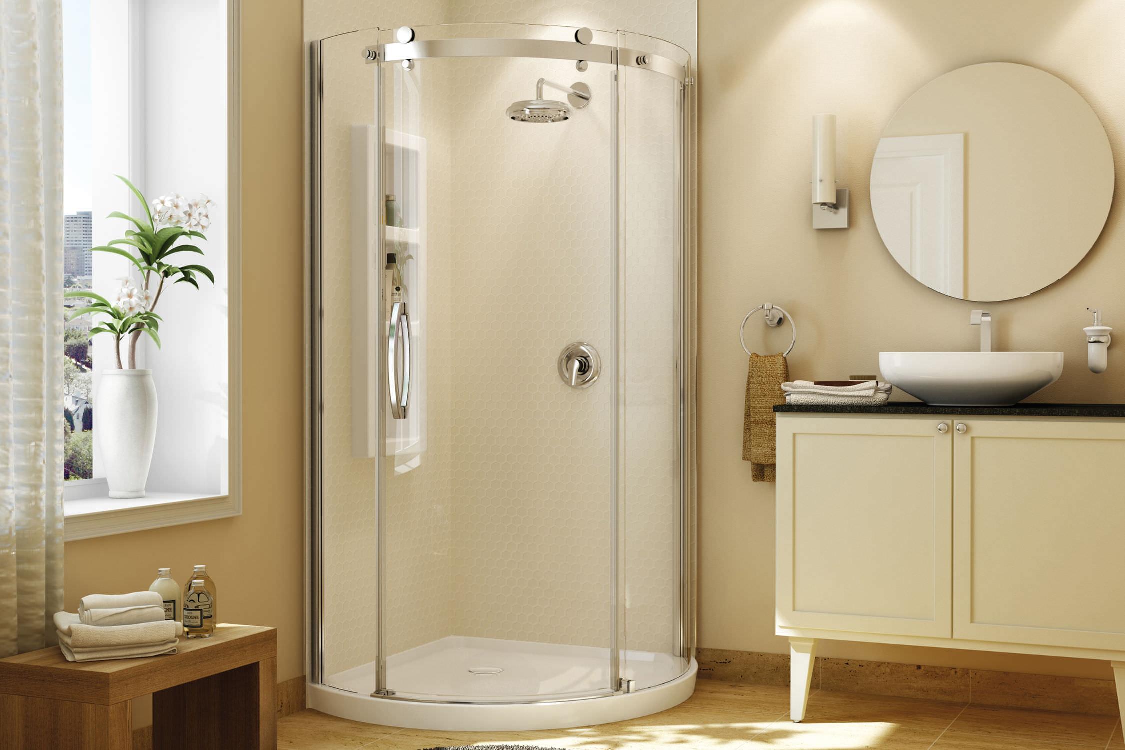 Acrylic Shower Cubicle Olympia Maax