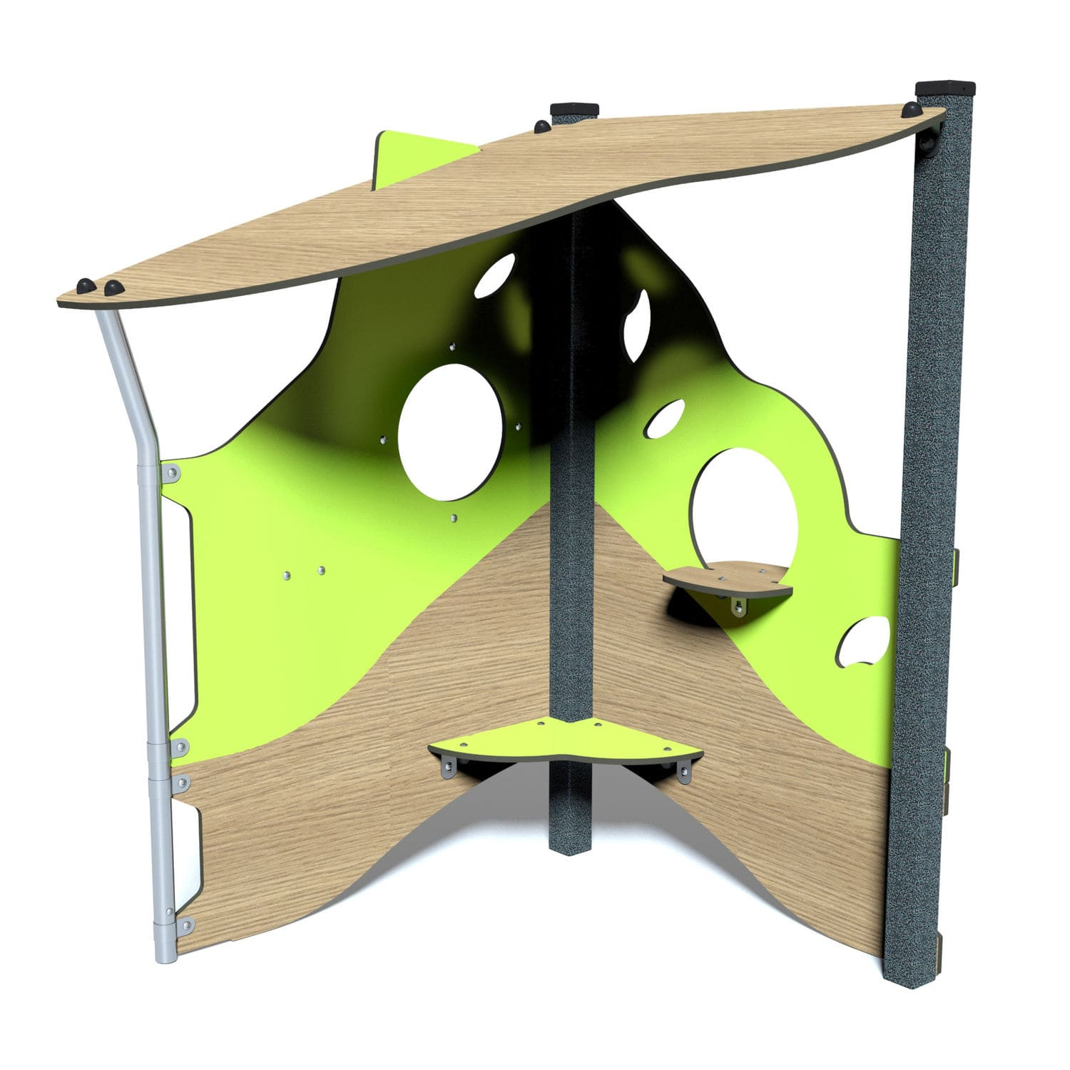 Picture of: Outdoor Playhouse J220 Proludic Floor Mounted