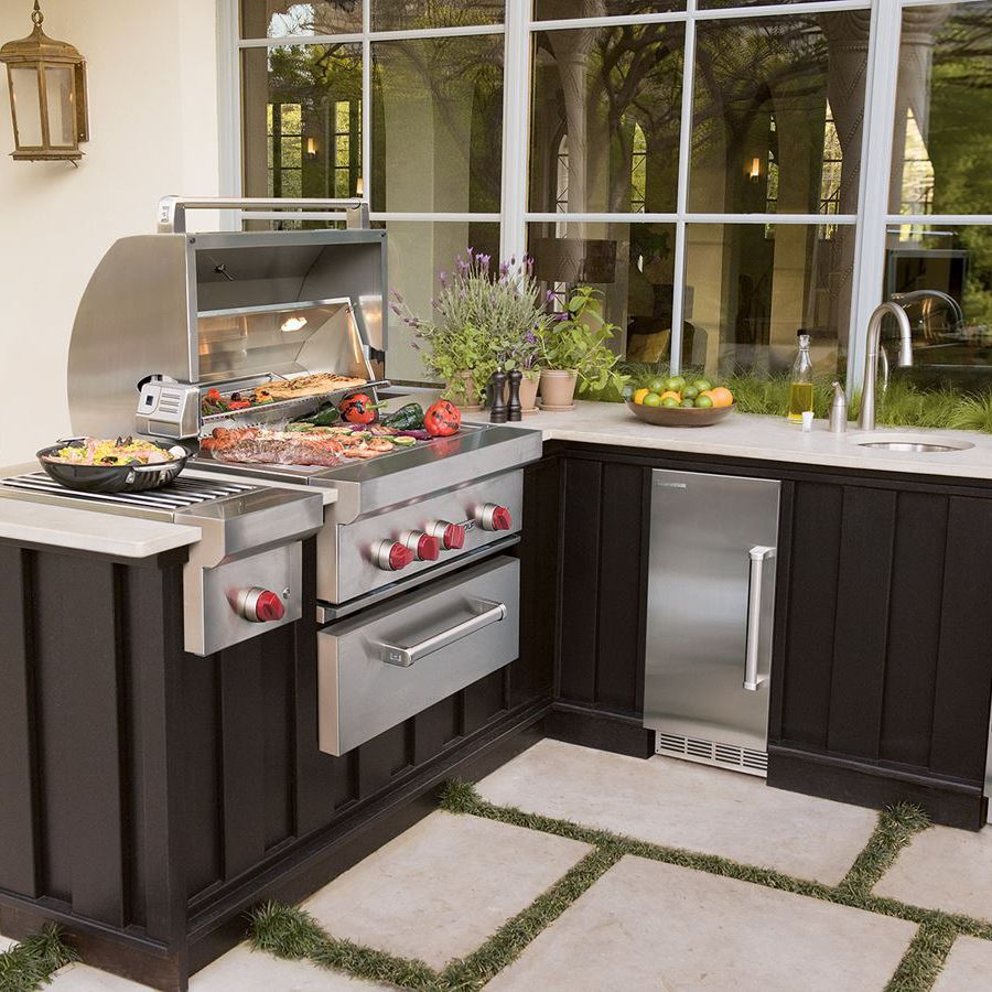 Gas Barbecue Metal Built In Og54 Sub Zero Videos