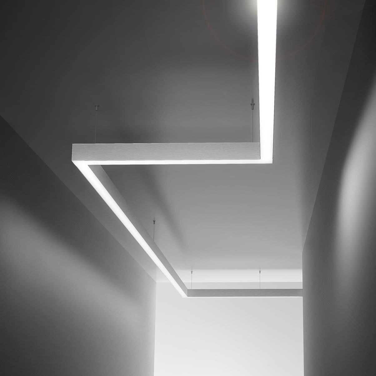 Soffitto A Led.Ceiling Lighting Profile Led Modular Home Brooklyn