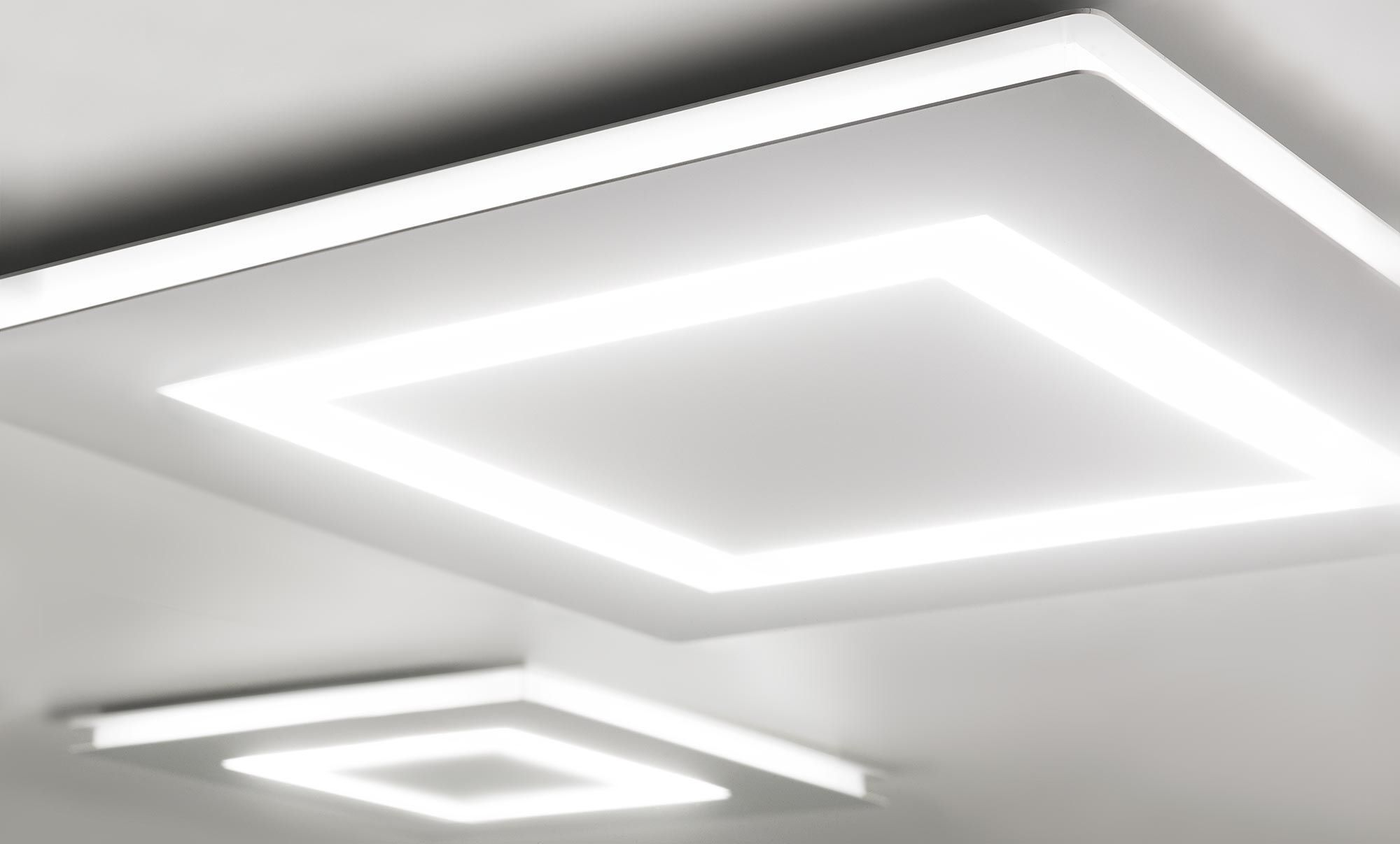 Contemporary Ceiling Light Flat
