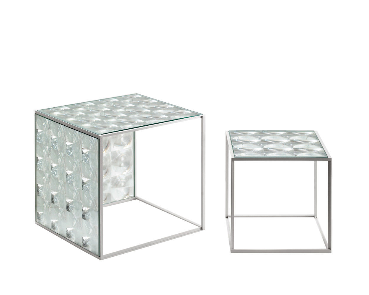 Contemporary Side Table Gl