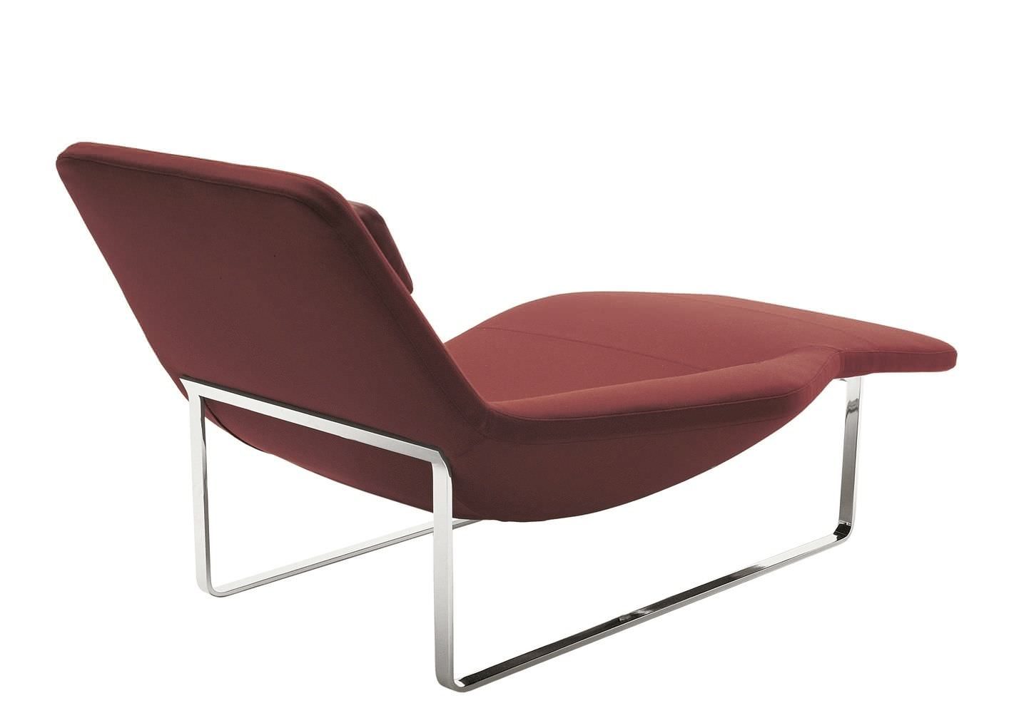 Chaise Longue Classic Design Italia.Contemporary Chaise Longue Fabric Steel Landscape 05 By