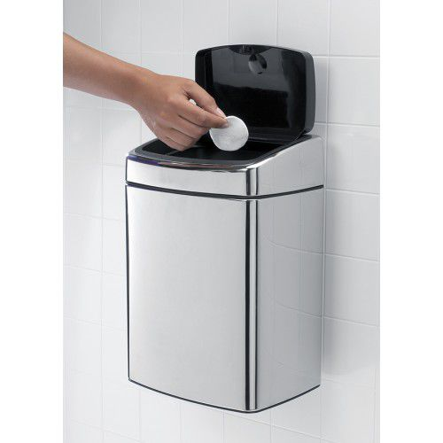 Kitchen Trash Can Wall Mounted Stainless Steel