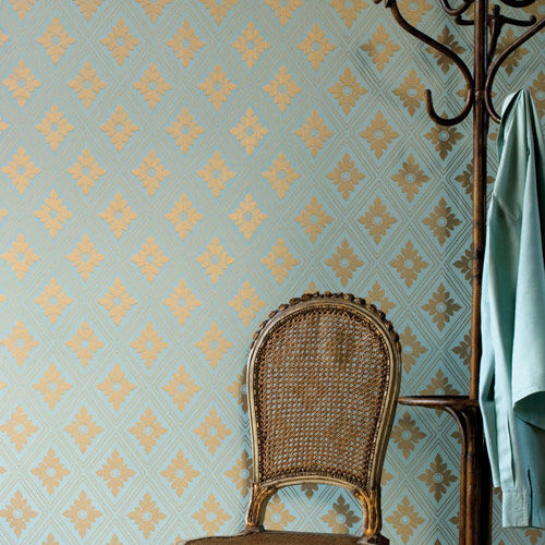 Traditional Wallpaper Fabric Patterned Ranelagh