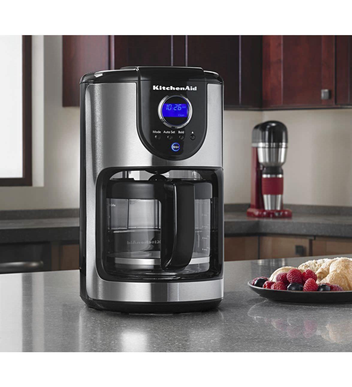 Filter Coffee Machine Manual Kcm111ob Kitchenaid Videos