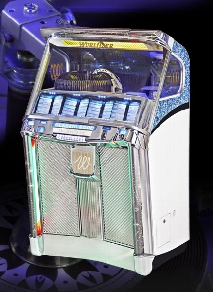 Commercial jukebox / for vinyl records - CLASSIC 2000