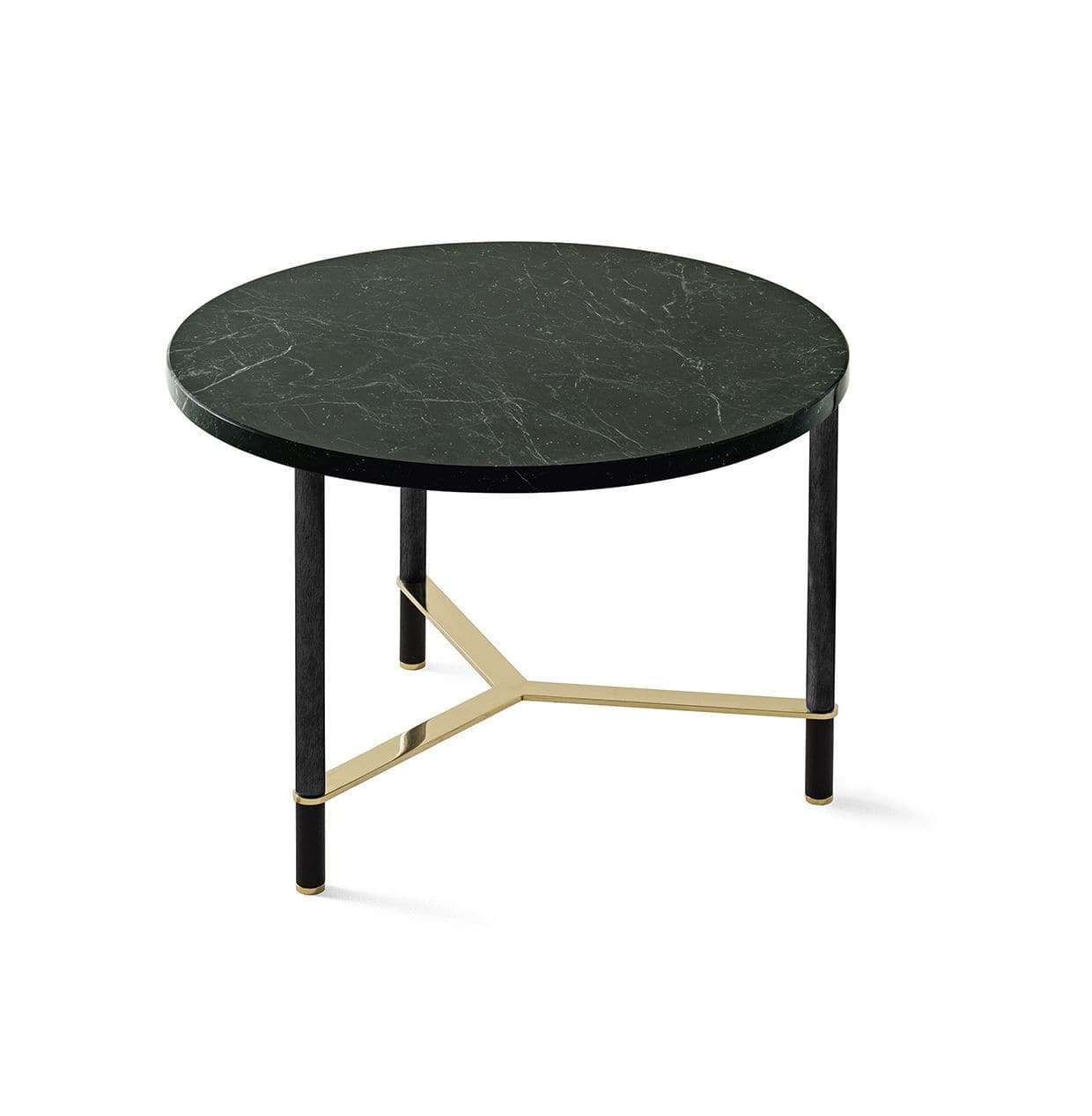 Picture of: Contemporary Coffee Table Cookies Circle Gallotti Radice Wooden Marble Anodized Aluminum Base