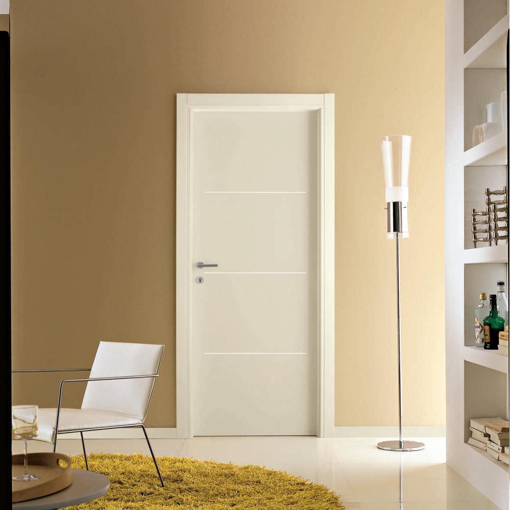 Indoor door / swing / wooden / aluminum - MEDUSA : M114 - GD ...