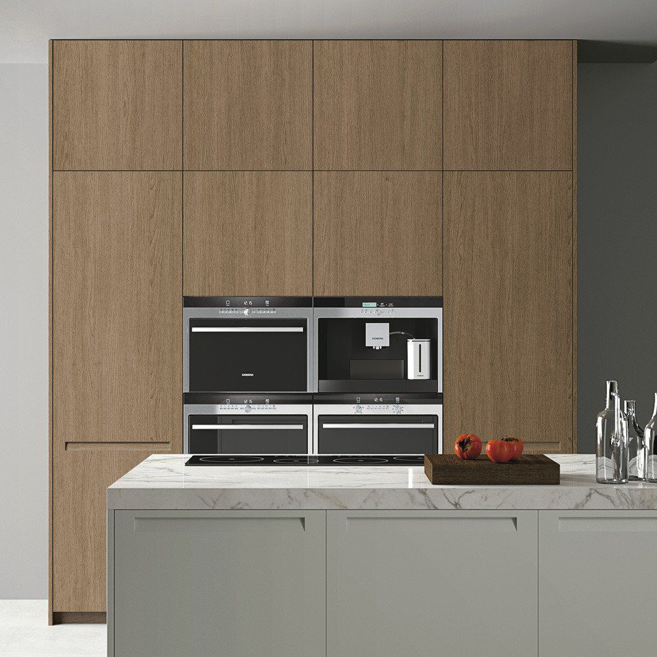 Contemporary Storage Cabinet For Kitchen Extra Doimo Cucine Wooden
