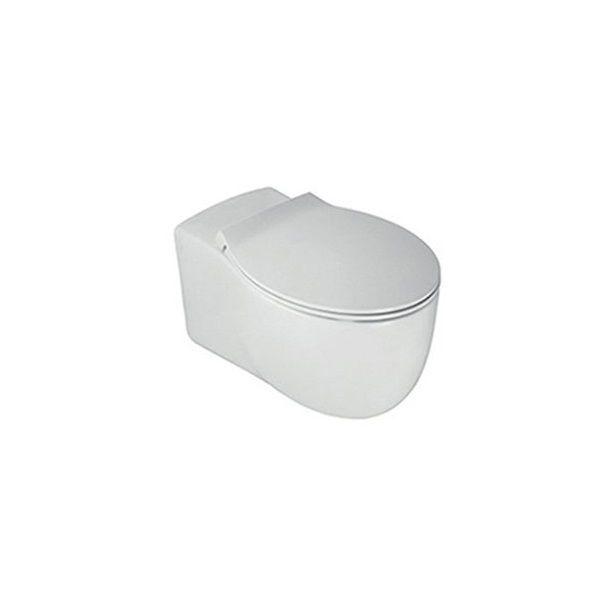 Wall Hung Toilet Ceramic Rimless Y1cd01 Hatria Srl