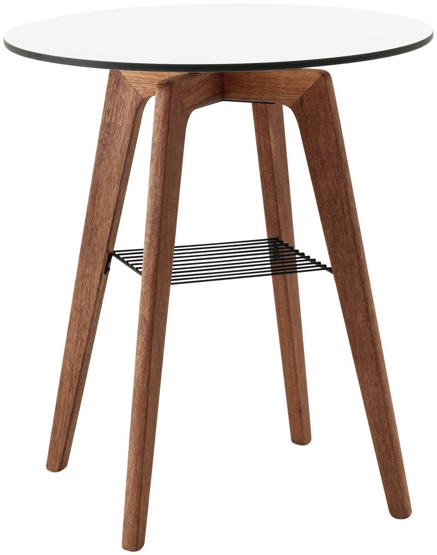 Contemporary Bistro Table Adelaide Boconcept Wooden Laminate Round