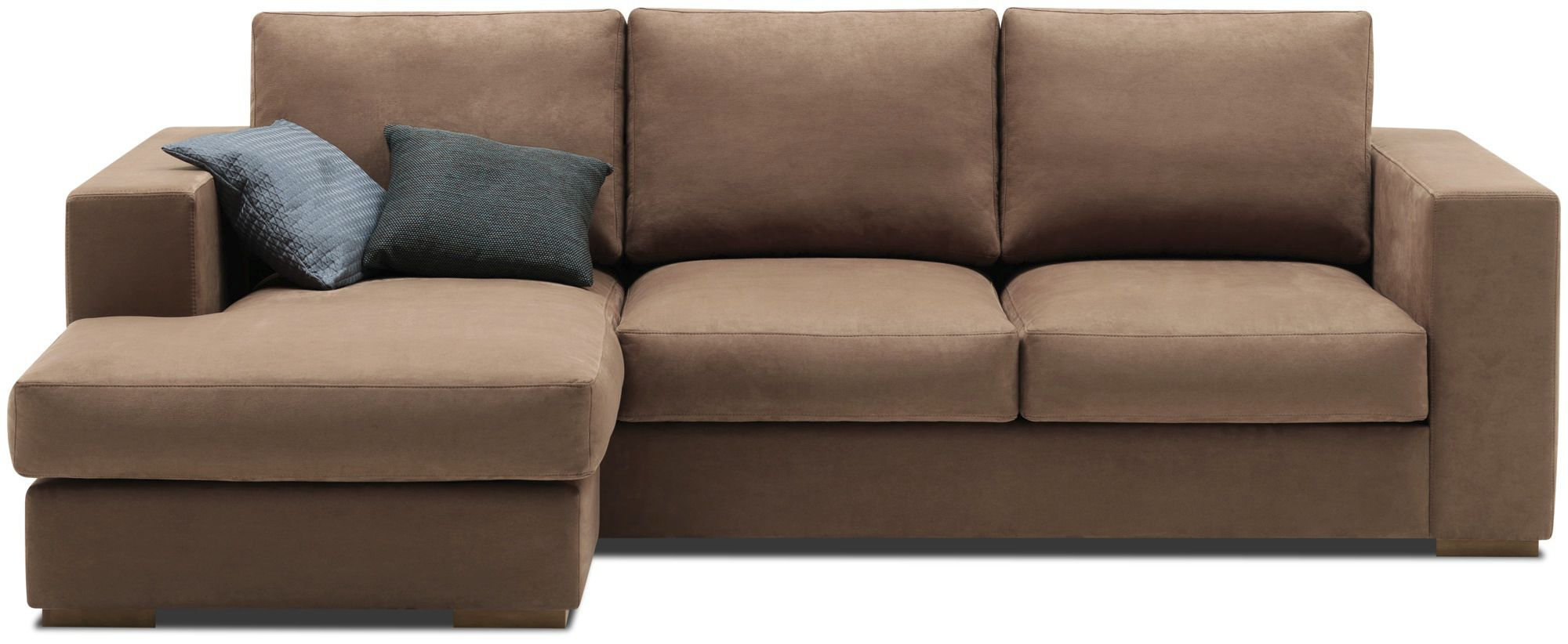 CENOVA - Corner sofa / modular / contemporary / leather by BoConcept |  ArchiExpo
