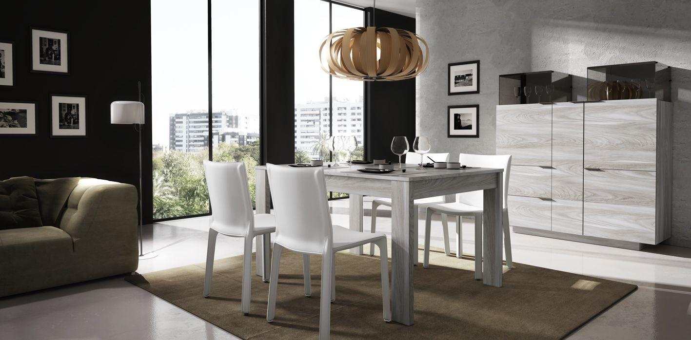 High Sideboard Contemporary Wooden Glass Iline 5 Piferrer # Muebles Piferrer Iline