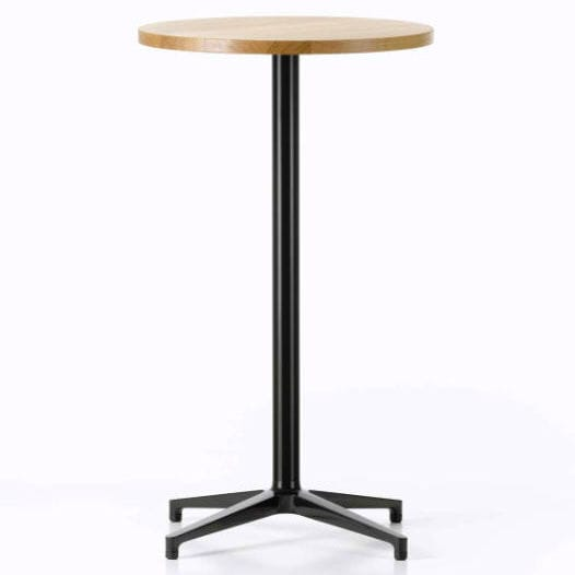 Contemporary High Bar Table Laminate Round For Outdoor Use Stand Up