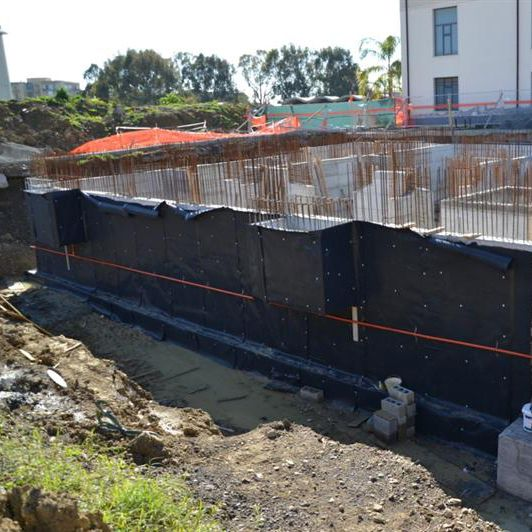 Foundation Bituminous Waterproofing