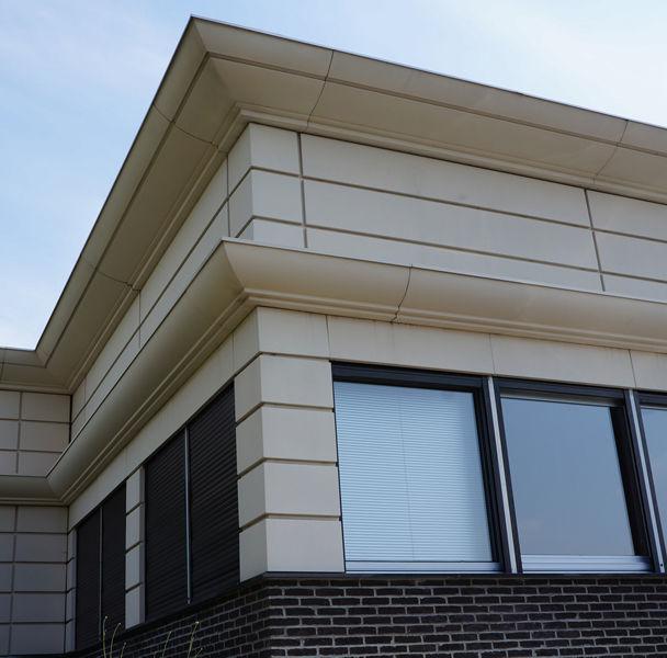 Roof cornice / metal / exterior - STONE ALU GROUP