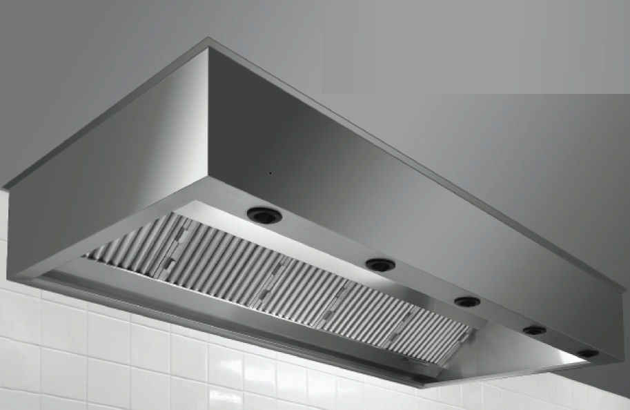 Island Range Hood Ceiling Mounted Commercial