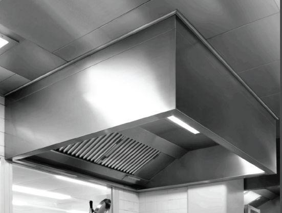 Wall Mounted Range Hood Basic Line Vianen Kitchen Ventilation Island Commercial