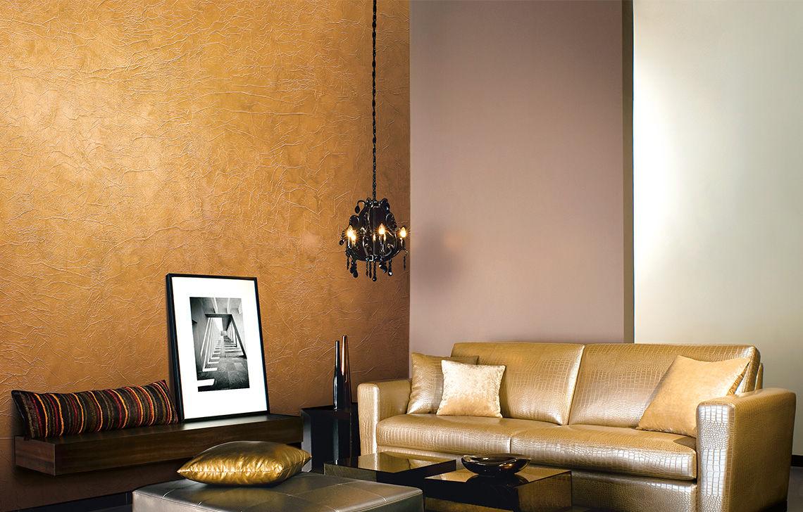 Decorative Paint For Walls Interior Metallic Look Crinkle