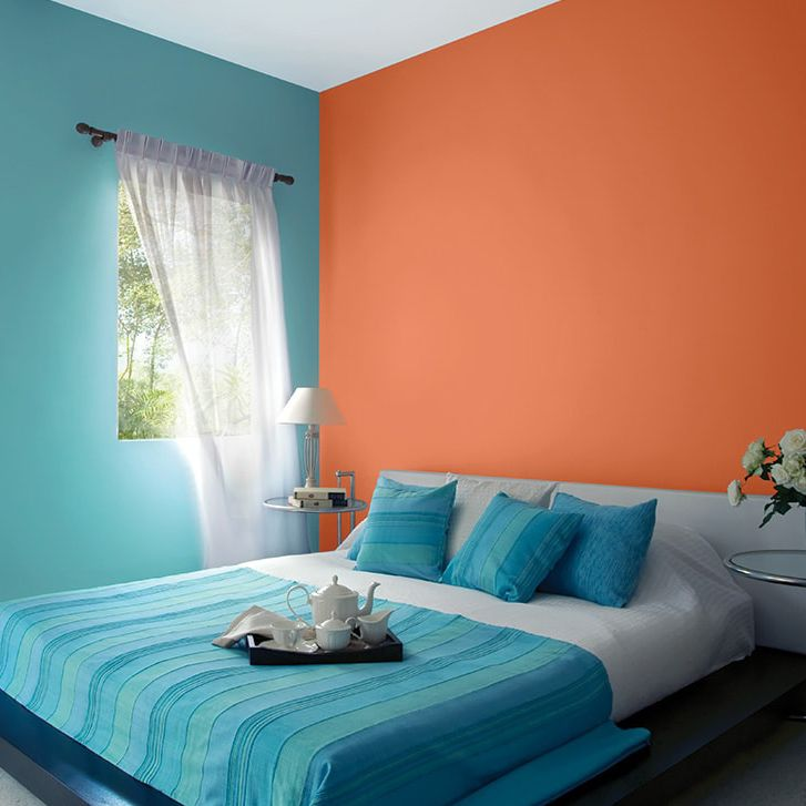 Decorative paint / protective / for walls / interior ...