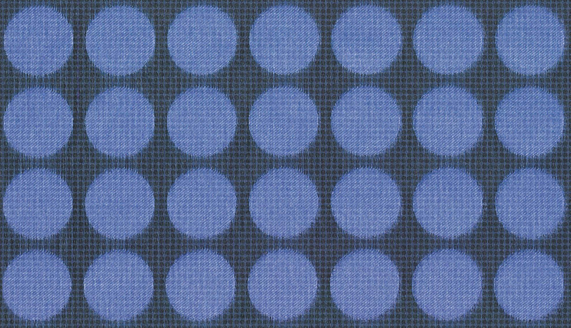 Vintage Wallpaper Fiberglass Vinyl Geometric Pattern