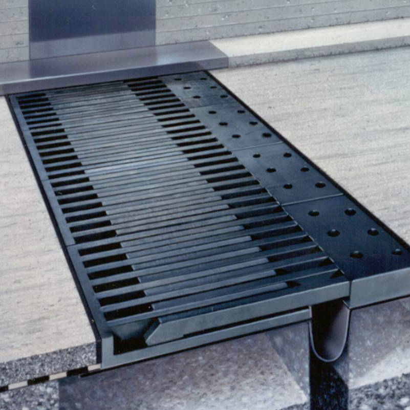 Steel expansion joint / road / finger plate / modular TENSA-FLEX RC Mageba