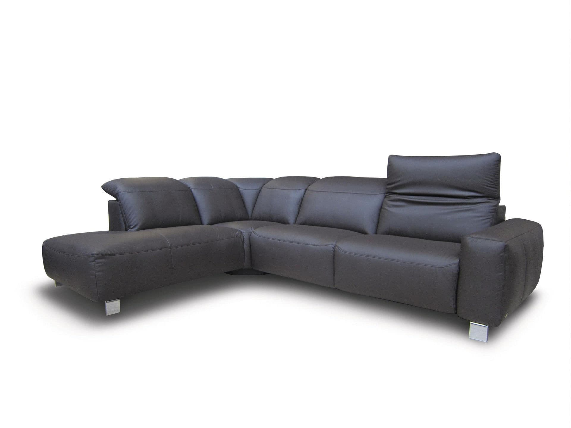 Modular sofa / contemporary / leather - MR 590 - Musterring