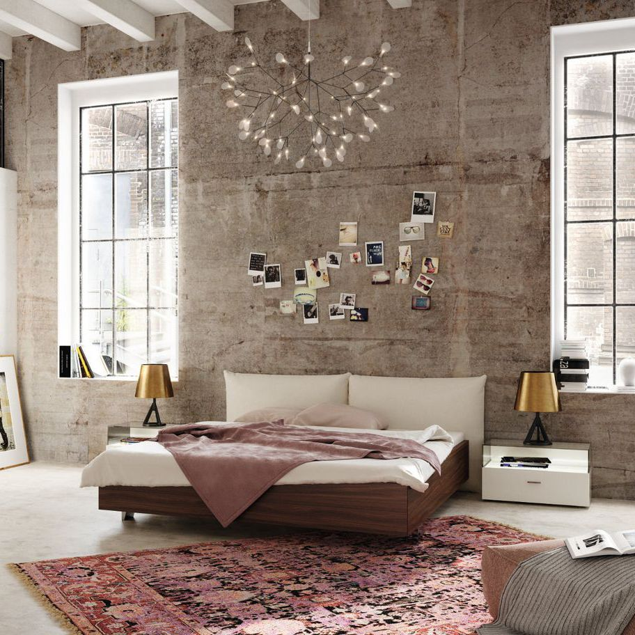 Double Bed Contemporary With Upholstered Headboard Fabric Now No14 326 Now By Hülsta