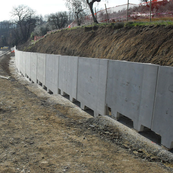 Concrete Retaining Wall L Shaped Walls Paver Modular