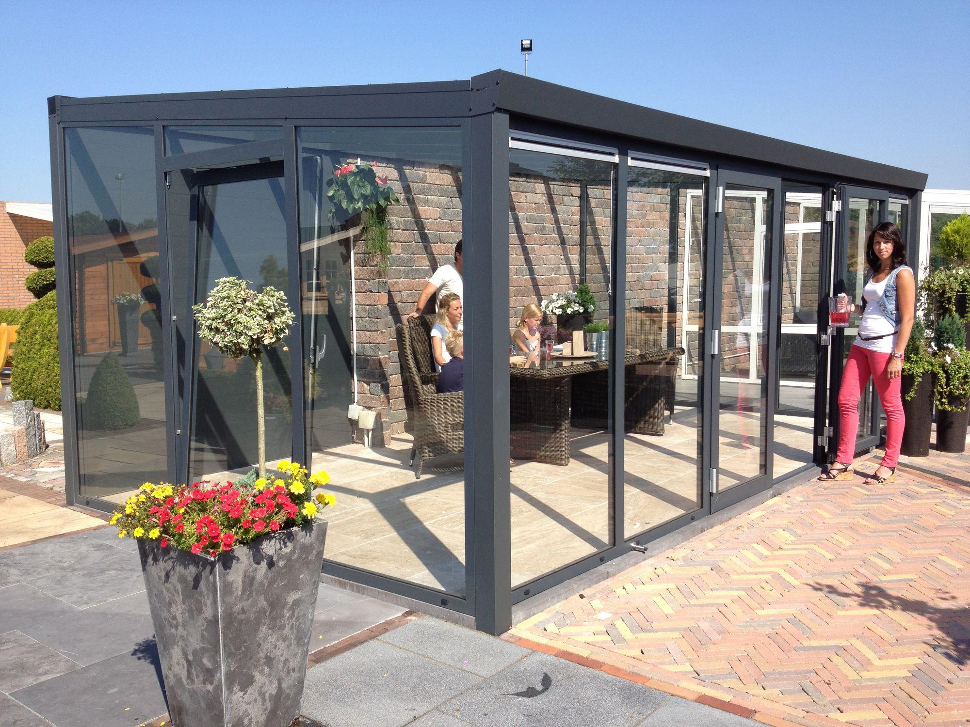 Veranda Metal Et Verre aluminum conservatory / all glass - la maestria