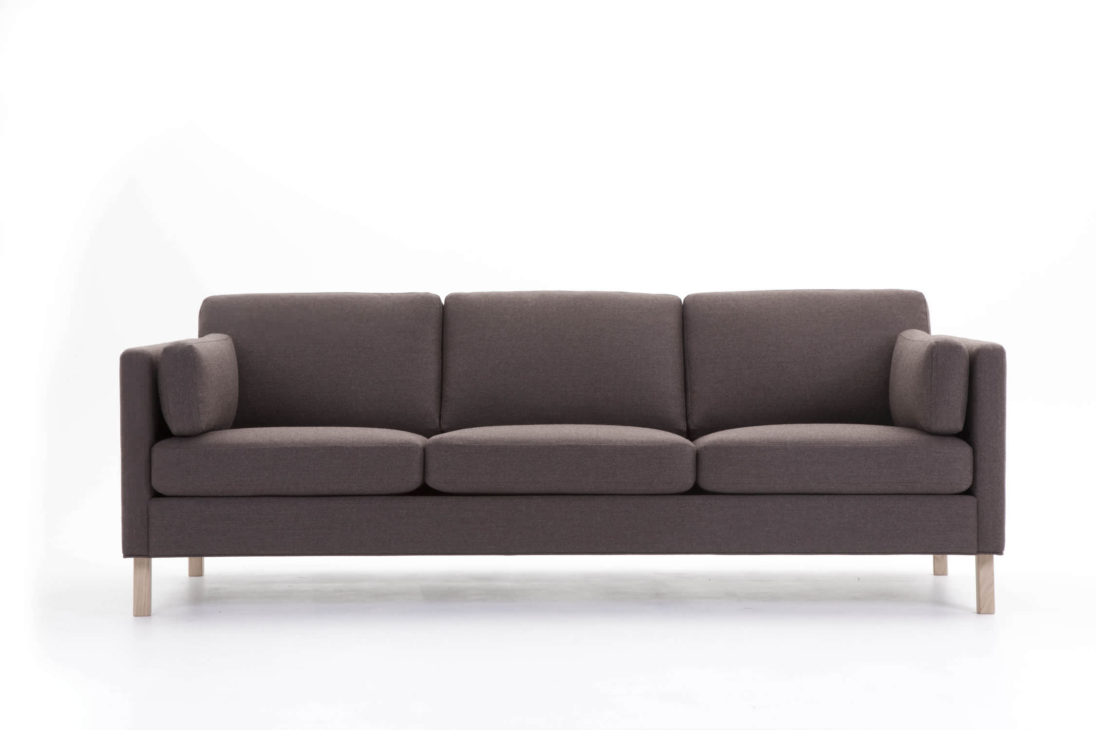 Contemporary sofa fabric 3 seater with removable cover