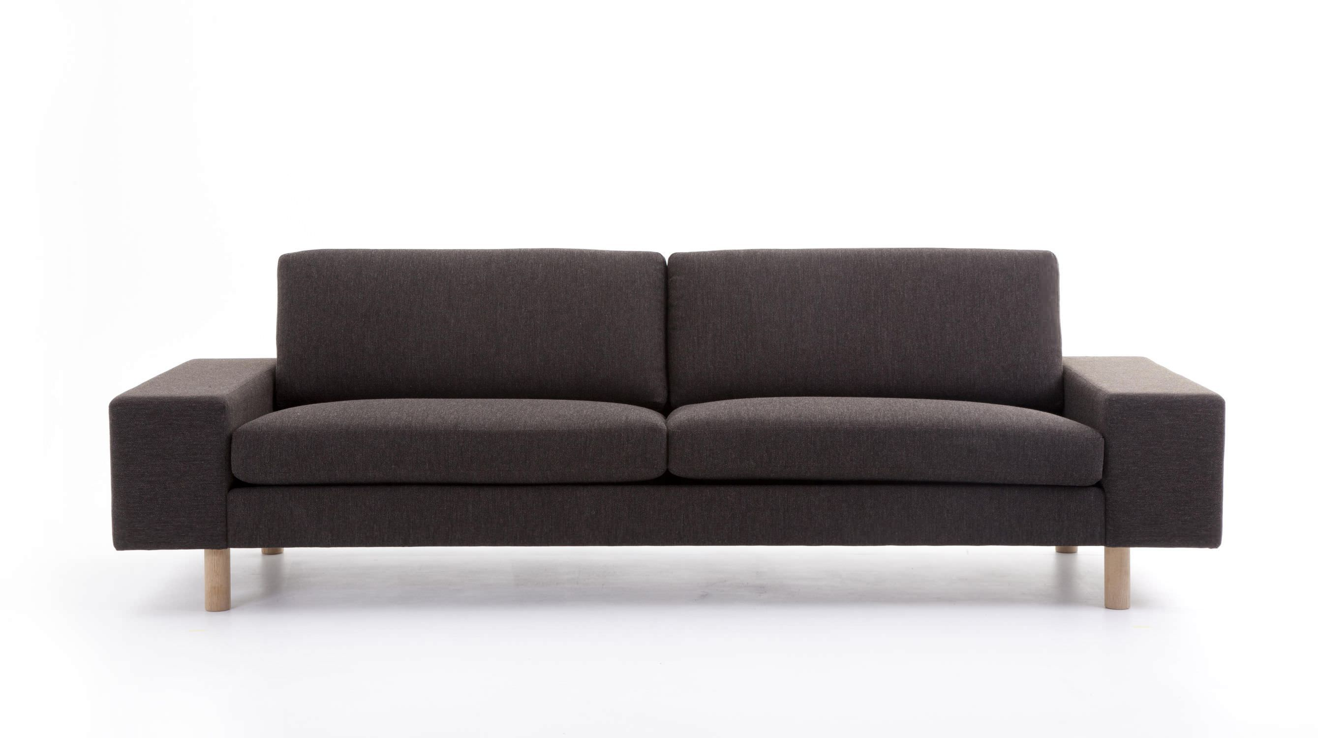 Contemporary sofa fabric 2 seater with removable cover
