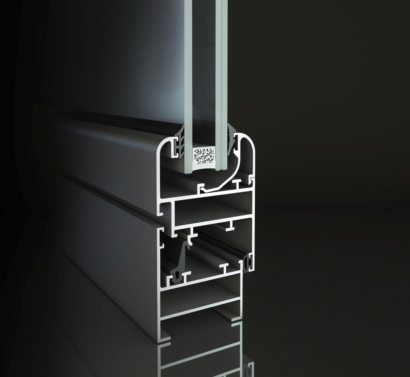 Aluminum Door Profile Thermal Break 5 New Age Allco Spa