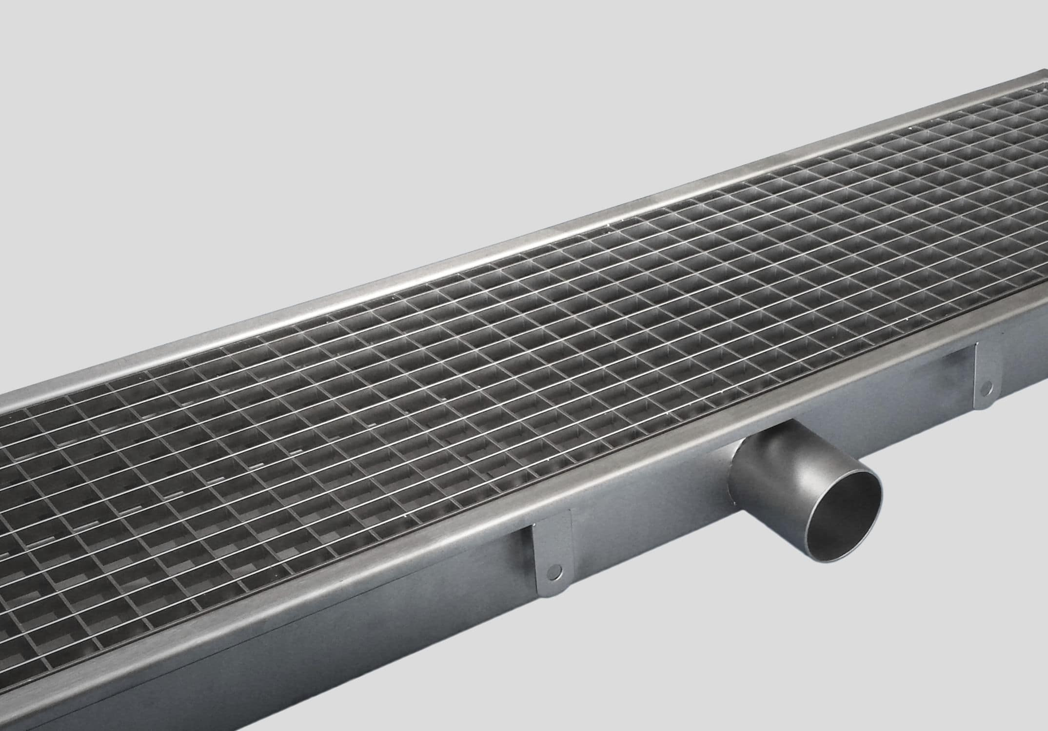 Stainless Steel Drainage Channel 0810 Inoxsystem S R L With